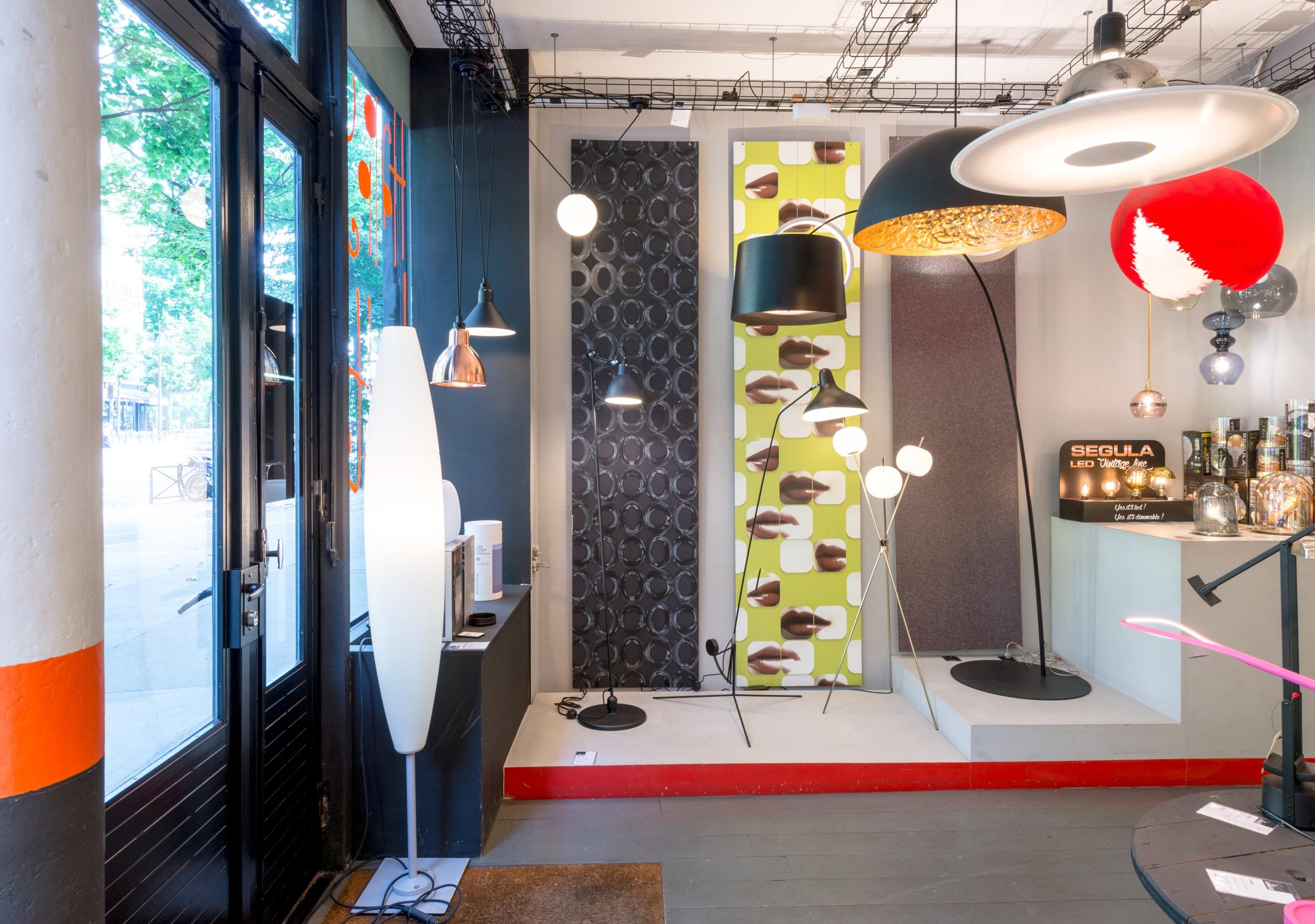 et la lumi re boutique de luminaires design contemporains la boutique. Black Bedroom Furniture Sets. Home Design Ideas