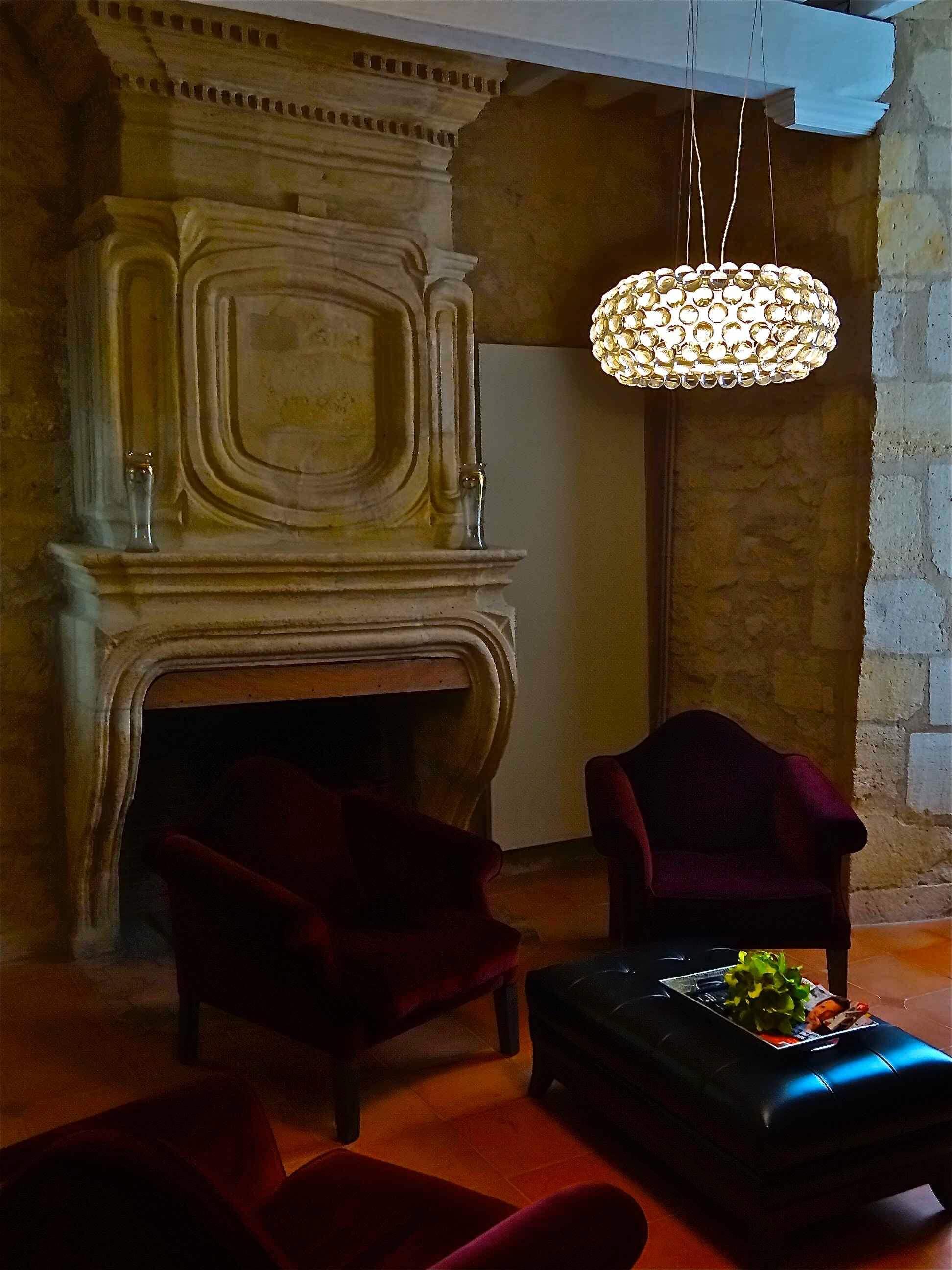 Caboche Suspension - Patricia Urquiola - Foscarini - Château de Courtebotte - Et La Lumiere