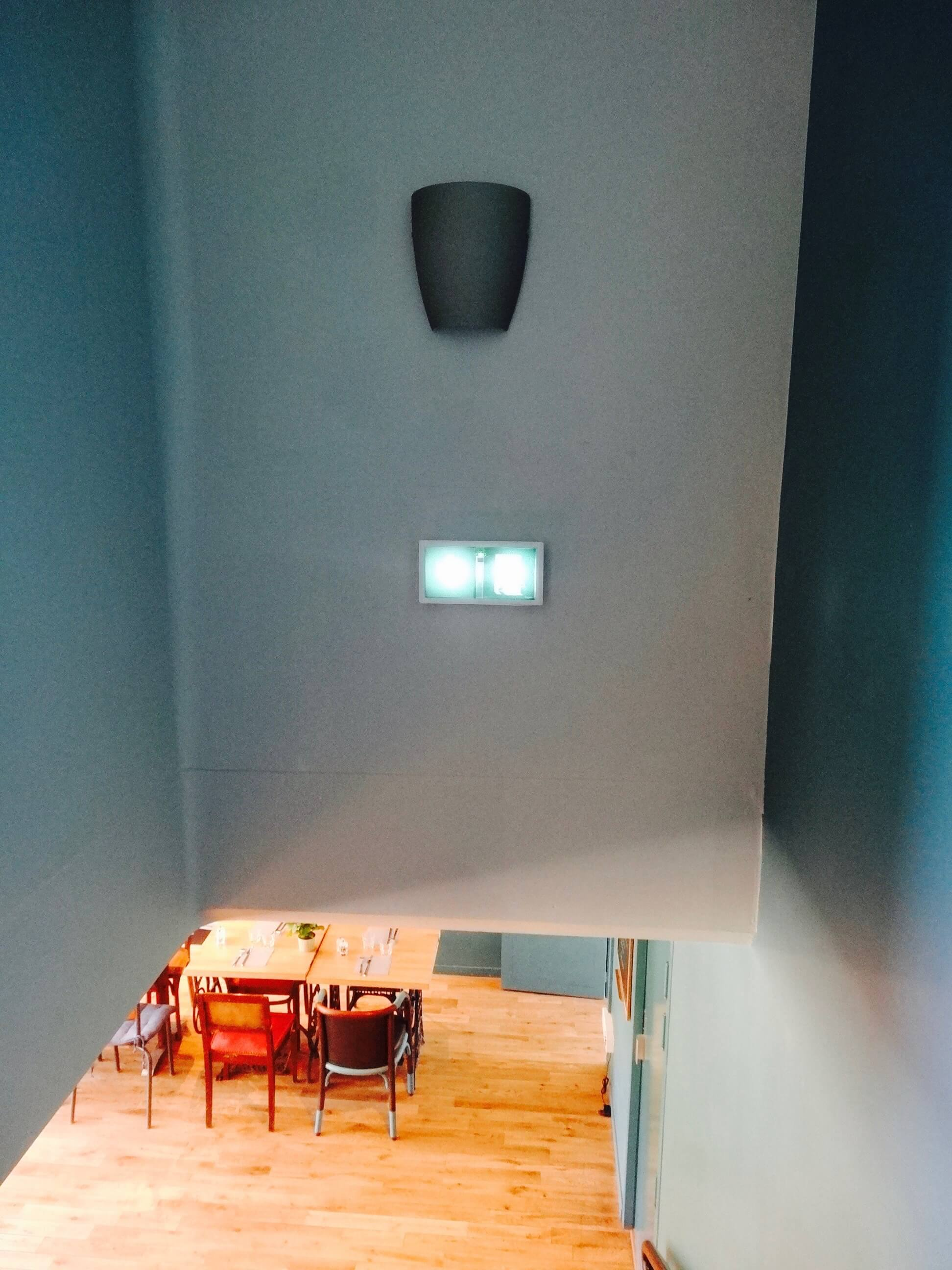 Applique Dafne - Vistosi - La Terrasse du CAM - Montrouge - Et La Lumiere