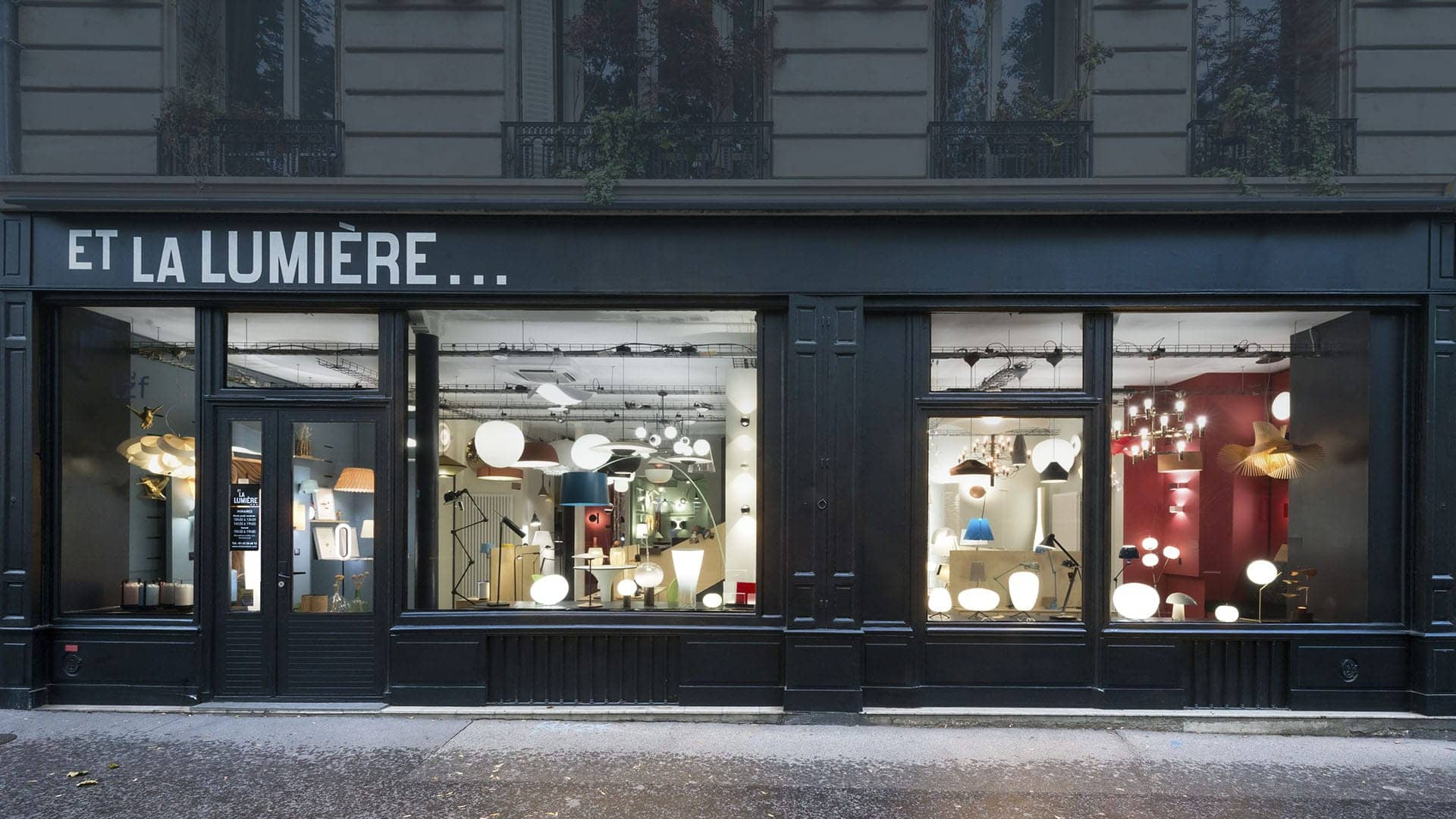 LA BOUTIQUE DE LUMINAIRES DESIGN CONTEMPORAINS À PARIS